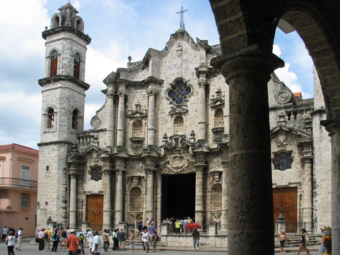 Havana Cathedral, a must in Havana