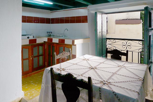 Hostel San Ignacio, it also has a small kitchenette