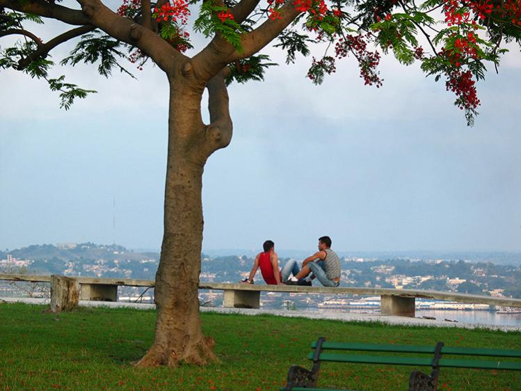 From this spot visitor enjoy a spectacular view of the Havana City