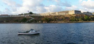 La Cabaña Fortress in Havana Bay