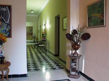 Hostal Mercedes, this is the main corridor of this refined residence